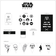 Star Wars Party Personalizada Nina Designs Parties