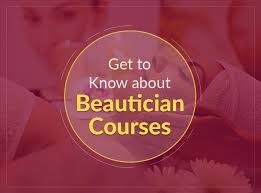 beautician courses from government