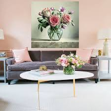 Shop Full Color Bouquet Of Flowers Beauty Full Color Wall Decal Sticker Sticker Decal 44 X 44 On Sale Overstock 15297876