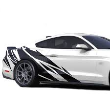 Decal Sticker Front To Back Stripe Kit Compatible With Ford Mustang Gt