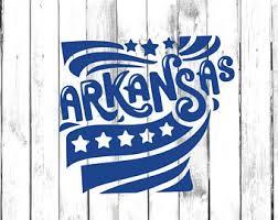 Arkansas Yeti Decal Etsy