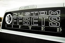 Co Dlrw 48 Custom Offsets Lifted Rear Window Decal