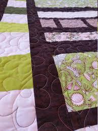 modern baby quilt handmade baby girl