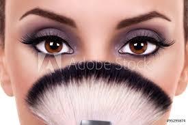 beautiful woman eye makeup beauty