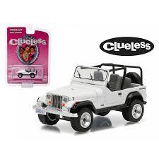 1994 Jeep Wrangler Clueless Movie 1995 1 64 Diecast Model Car By Greenlight Walmart Com Walmart Com