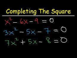 method and solving quadratic equations