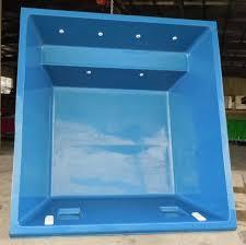 5m fibreglass swim spa plunge pool