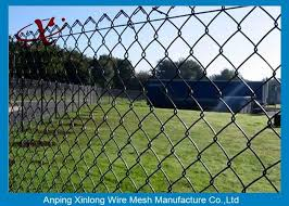 Football Ground Vinyl Coated Chain Link Fence 6ft Various Size Colors