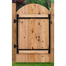 Wood Fence Gates Wood Fencing The Home Depot