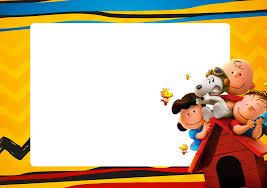 Charlie Brown Y Snoopy Invitaciones Para Imprimir Gratis Ideas