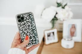 Diy Leopard Print Phone Case With Adhesive Vinyl
