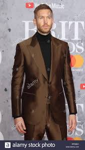 Calvin Smith seen on the red carpet during The BRIT Awards 2019 at ...