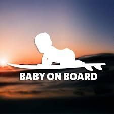 Canailles Baby On Board Car Decal Printed With Long Lasting Air Release Vinyl Outdoor Rated And Durable Decal On Thick 6 Mil Stock Don T Fall For Inferior Products Stickersaur