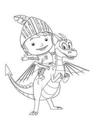 36 Best Mike The Knight Coloring Page Images In 2020 Mike The