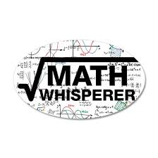 Math Whisperer Wall Decal By Lolo Tees Cafepress