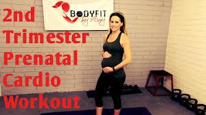 2nd trimester prenatal cardio workout