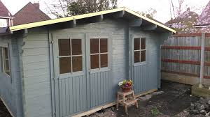 What Colour Is Your Shed Cabin Garden Building Mumsnet