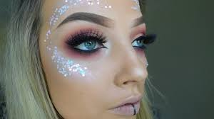 festival eye makeup glitter saubhaya
