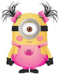 Ch B Clipart Minions Girl Minion Pink Minion