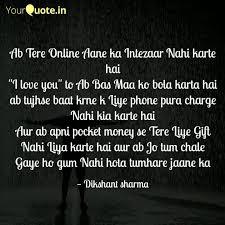 bewafa writes dikshant sharma quotes yourquote