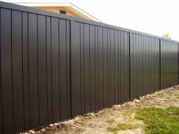 Phantasy Black Corrugated Metal Fence Panels Spectacular Ideascorrugated Throughout Corrugated Metal Fen Metal Fence Panels Corrugated Metal Fence Fence Design