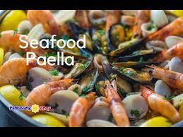 super yummy seafood paella you