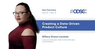 "Open Data Science on Twitter: ""Hear from Hillary Green-Lerman at @ODSC West  2018 in #SanFrancisco, Oct 31-Nov 3 https://t.co/lfraLqDtxT… """