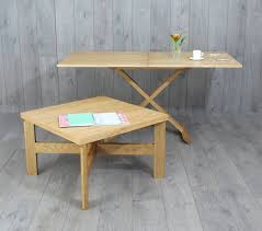 oak convertable eco coffee table to