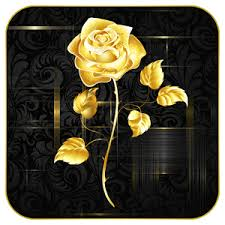rose golden live wallpaper apk