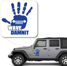 Amazon Com Off Road Truck Wave Dammit Damnit Decal Sticker For Car Window Laptop And More 1046 6 X 5 5 Custom Arts Crafts Sewing