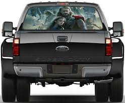 Thor The Avengers Rear Window Decal Graphic Sticker Car Truck Suv Van Marvel 420 Ebay