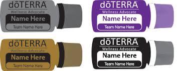 Doterra Laser Engraved Oil Bottle Name Tag Doterra