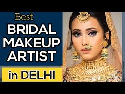 best bridal makeup artist in delhi top