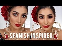 y spanish inspired makeup tutorial
