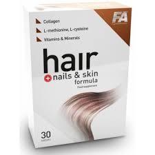 fa nutrition hair nails skin