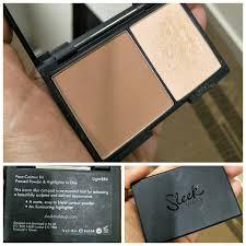 sleek contouring kit code light produk