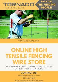 Get High Tensile Fence Wire With Tornado Wire