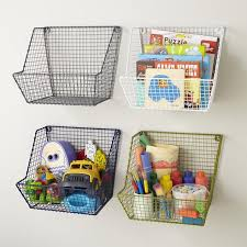 wall basket storage for kids toys or