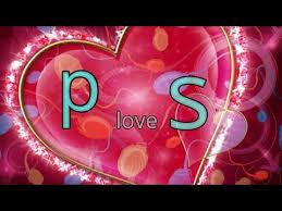 p love s letter cute whatsapp