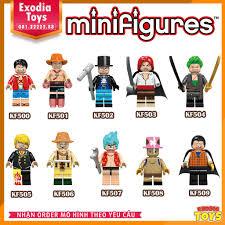 Xếp hình minifigure nhân vật anime OnePiece : Đảo Hải Tặc - Đồ ...