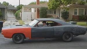 1968 dodge charger rat rod using
