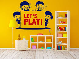 Playroom Wall Decal Preschool Sticker Nursery Decal Etsy Playroom Wall Decals Nursery Decals Kid Room Decor