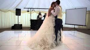 Phoebe & Pedro Simmons 1st Dance August 2nd 2014 - YouTube