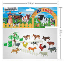 Plastic Animals Toy With Tree Fence And Grass Farm Toy Buy Farm Toy Animal Toy Farm Animal Toys Product On Alibaba Com