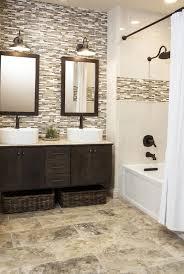 35 grey brown bathroom tiles ideas and