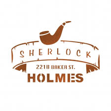 sherlock holmes stencil template for
