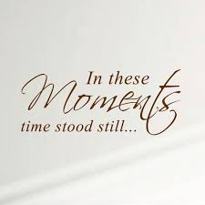 Innovative Stencils In These Moments Time Stood Still Home Wall Decal Walmart Com Walmart Com