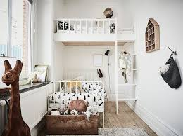 A Calm Swedish Home In Grey And White Kid Room Decor Small Kids Room Shared Rooms