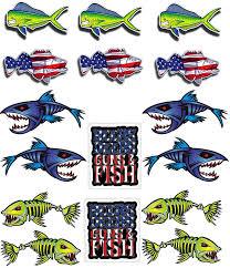 Car Styling Fish Car Window Decal Salt Bones Bass Fishing Life Sticker For Car A
