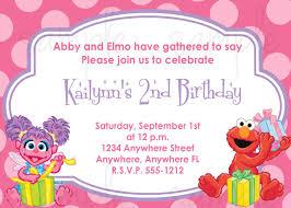 Abby Cadabby Y La Invitacion De Cumpleanos De Elmo Invitaciones